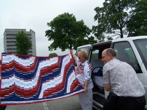 The transfer of quilt