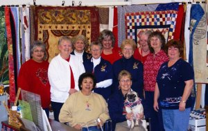 Valley Spring, California Quilters in the Belmont quilt Shop