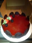 Raspberry Mousse for Dessert