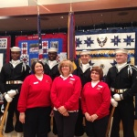 WISE QOH Ladies with our Honor Guard