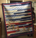 Strip Fancy Quilt